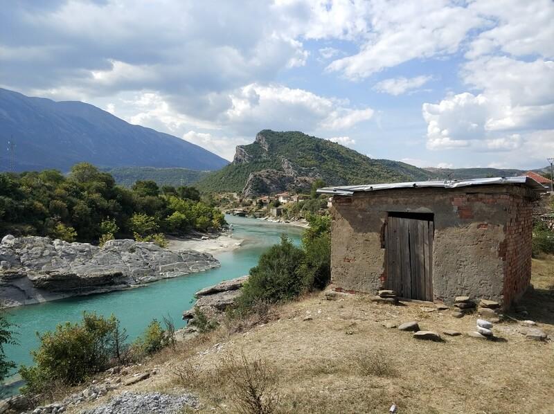 Albanië onderweg