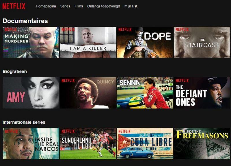 Netflix documentaires