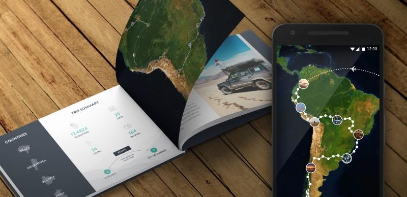 Polarsteps Travel Book