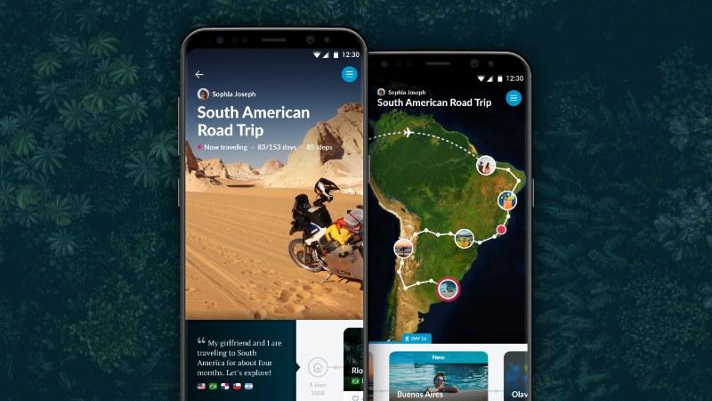 Polarsteps app 1