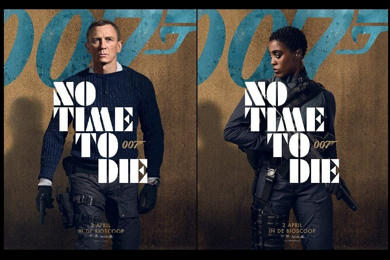 James Bond cover No Time to Die