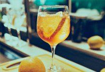 Gin tonic sinaasappel kaneel steranijs
