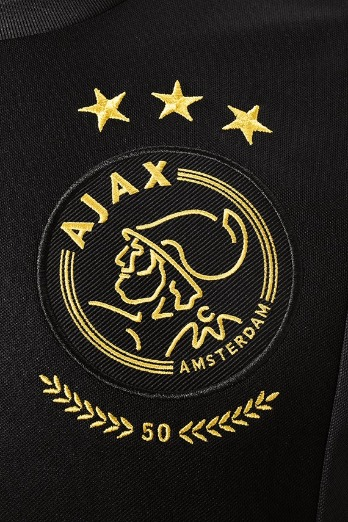 Ajax Europees shirt logo 2020 - 2021